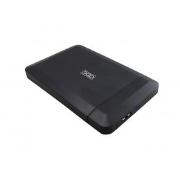 "CAJA EXTERNA HDD 2.5"" SATA-USB 3.0 SCREWLESS 3GO NEGR"